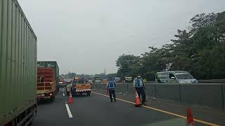 Kecelakaan Tol Cipularang km 119 Ruas purwakarta padalarang 05 agustus 2020