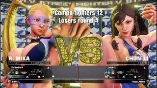 Compa fighters 12 (SpiderWar3) vs (LuisM-X) Chun Li 2 sets