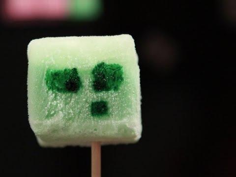Minecraft Jello Slime Icecream Pops Qnb Youtube