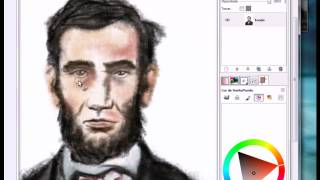 Speed Painting Abraham Lincoln by Xsjunior