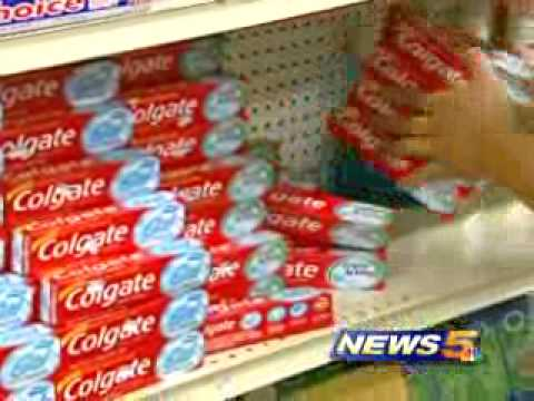 Counterfeit Toothpaste