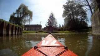 Kayak sur la Somme départ Feuillères