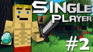 Baixar Minecraft Single Player #2 Abrigo Lindo & Grutas Pequenas
