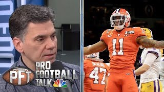 NFL Draft 2020: Isaiah Simmons embracing his defensive versatility | Pro Football Talk | NBC Sports