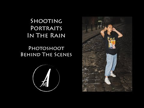 Shooting Portraits In The Rain | Behind The Scenes | Andrew Mclean