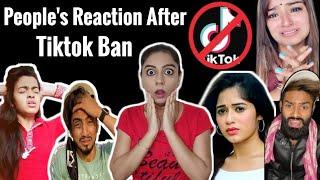 People's Reaction After Tiktok Ban L Tiktok Ban In India 🔥