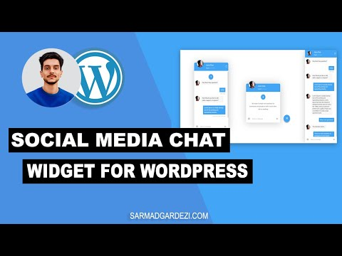 Chat Widget Of Social Media Apps For WordPress Website