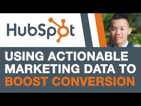 5 Actionable Marketing Data to Boost Conversions (HubSpot Tutorial) thumbnail