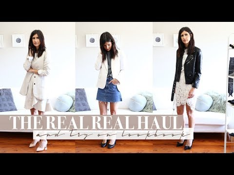New Transitional Wardrobe Additions - The Real Real Pre Loved Try On Haul + Lookbook | Mademoiselle