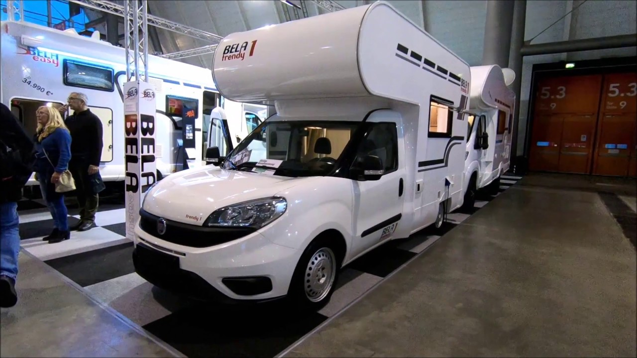 Fiat Doblo Mini Camper Bela Trendy 1 S Alkoven New Model Walkaround And Interior