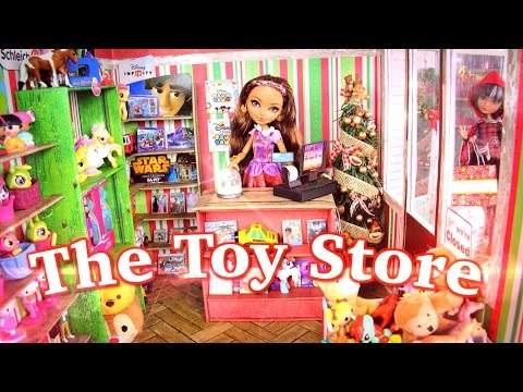 Thumbnail: DIY - How to Make: Doll Toy Store - CHRISTMAS - Handmade - Doll - Crafts