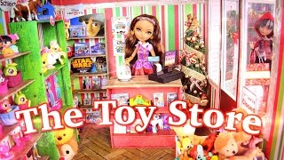 How to Make a Doll Toy Store - Doll Crafts