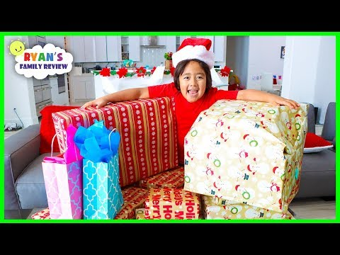 We Adopt a Family for Christmas with Ryan's Family Review!