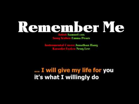 Easter Song - Remember Me Karaoke