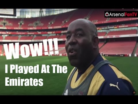 Arsenal Vlog | Wow I Played At The Emirates!!!