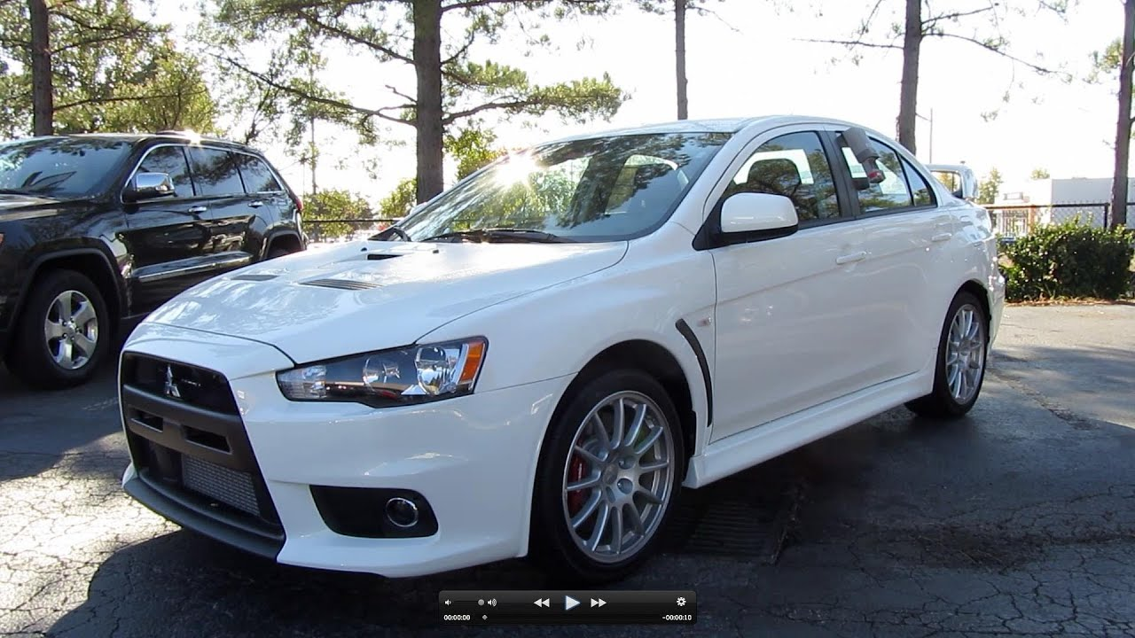 small resolution of 2011 mitsubishi lancer evolution gsr start up exhaust and in depth tour