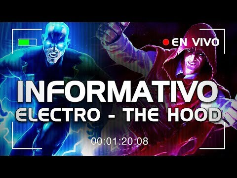 EL INFORMATIVO! con The Hood y Electro! mas RACHA! | Marvel Contest of Champions