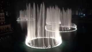 Tum Hi Ho Aashiqui 2 Instrumental ♫♥Heart Touching♥♫ At Burj khalifa,Dancing foundain-rEnJuZ