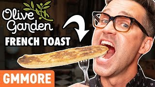 Olive Garden French Toast Taste Test