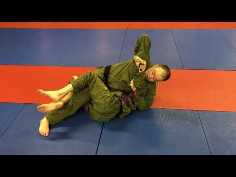 BJJ Puyallup: 3 Attacks From Top Half Guard