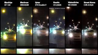 Тест-обзор автомобильных видеорегистраторов с Wi-Fi, осень 2013