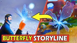 BUTTERFLY STORYLINE EXPLAINED! (EVENT) FORTNITE CUBE SEASON 6 STORY SOLVED!