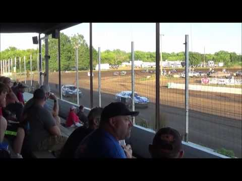 LMSS TOURING SERIES HEAT 1 RAPID SPEEDWAY JULY 19,2016