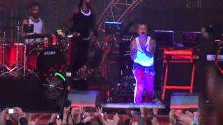 The Prodigy - Rock Weiler - live at Park Live - Moscow 28.06.2014