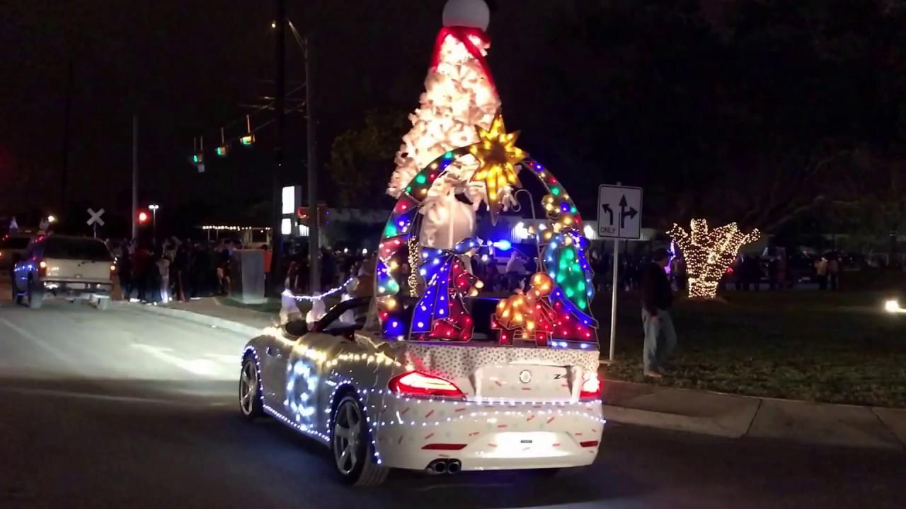 christmas parade alamo texas best car - Christmas Car Parade Decorations