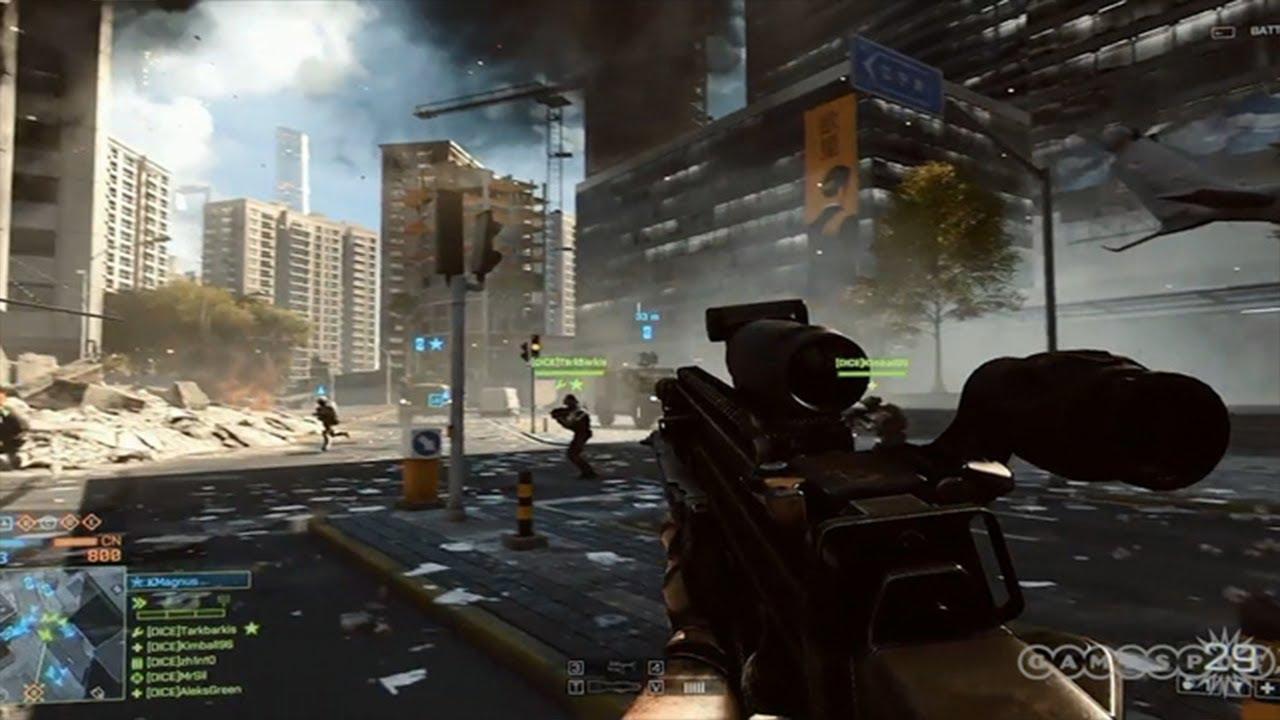Battlefield 4 ролик
