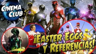 POWER RANGERS | EASTER EGGS Y REFERENCIAS