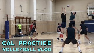 Cal Volleyball Practice 11/1/18 (UC Berkeley Mens Volleyball Club Team)