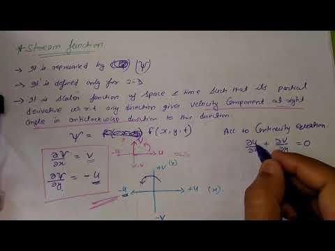 Stream Function ,part-8,unit-2,FM