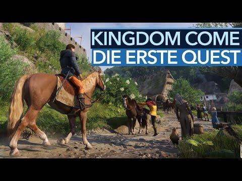 Kingdom Come: Deliverance - Die erste Quest in voller Länge [Achtung, Alpha!]