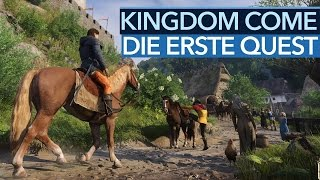 Kingdom Come: Deliverance - Die erste Quest in voller Länge [Achtung, Alpha!]