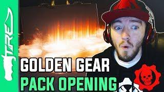 LEGENDARY GOLDEN GEAR HAS ARRIVED! - Gears of War 4 Gear Packs Opening - 61 GOLDEN GEAR PACKS!