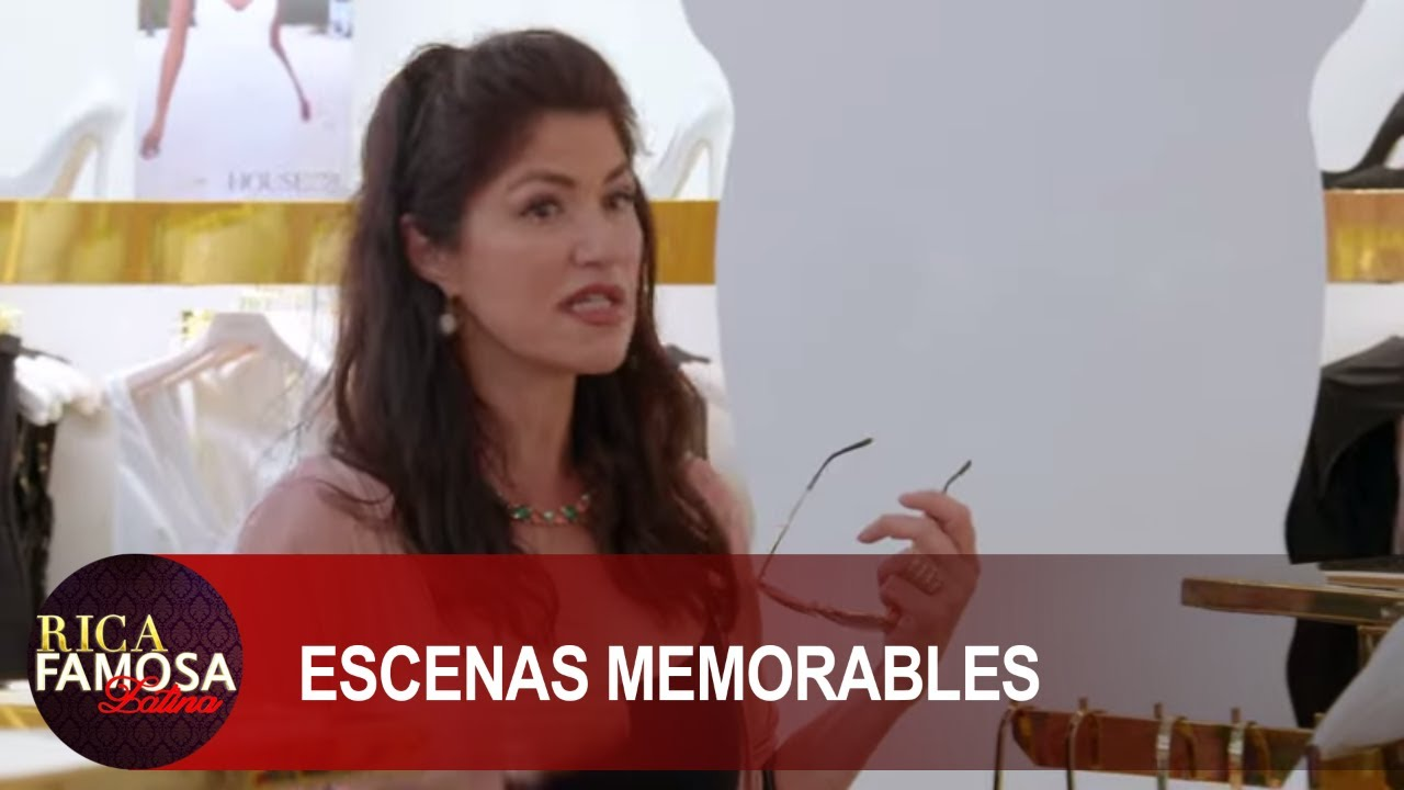 LUZELBA HACE CRITICAS MUY FUERTES    Rica Famosa Latina   Escenas Memorables