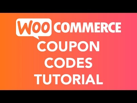 Coupon Codes Tutorial | WooCommerce