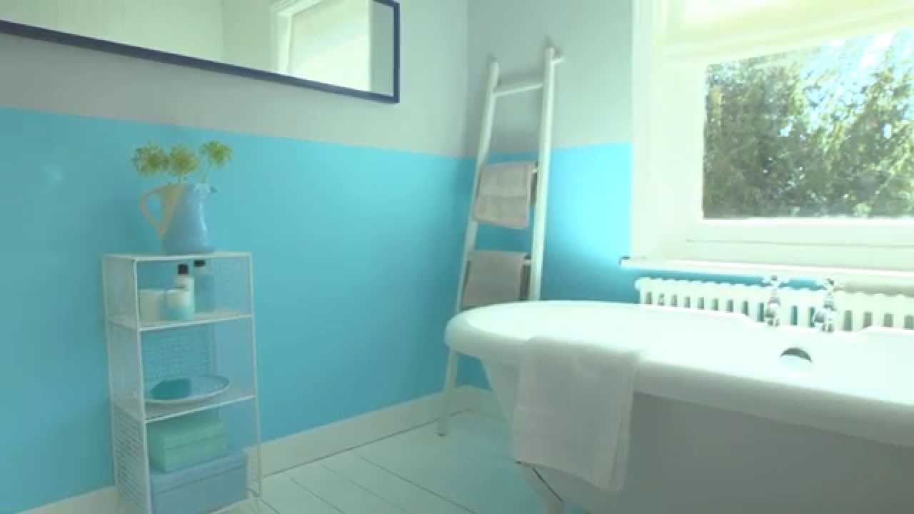 Bathroom Ideas Using Marine Splash Dulux Youtube