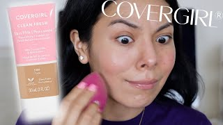 PROBLEMATIC SKIN APPROVED? COVERGIRL SKIN MILK FOUNDATION