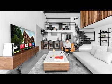 My Modern Loft Apartment Tour 2021 (Full Walkthrough)