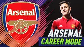 SELLING ALEXIS SANCHEZ!!! FIFA 18 ARSENAL CAREER MODE #18