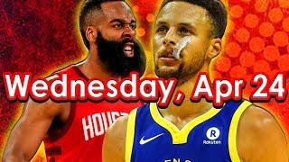 NBA DraftKings Picks + FanDuel Picks 4/24/2019 Playoffs