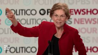 WATCH: 'Oh, they're just wrong'; Warren says of criticism of her tax plan | Sixth Democratic debate