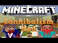 Да разгледаме #8 | Minecraft - Cannibalism Mod |
