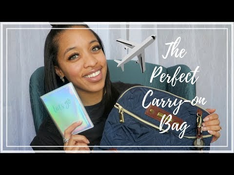 HOW TO PACK THE PERFECT CARRY ON BAG & TRAVEL TIPS