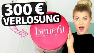 XXL HAUL mit 3OO€ VERLOSUNG: Benefit Produkte! ♡ | COCO