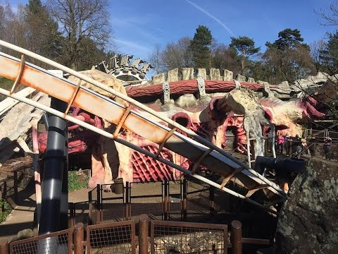 Alton Towers Vlog March 2017