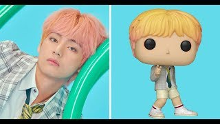 "[BTS NEWS] Funko Pop Unveiled New ""BTS Pop"" Figures, Here's How To Get Them"