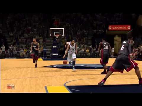 NBA 2K13-Rudy Gay Spin Dunk
